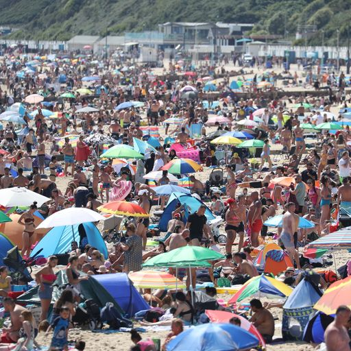 England records driest May and UK its sunniest calendar month