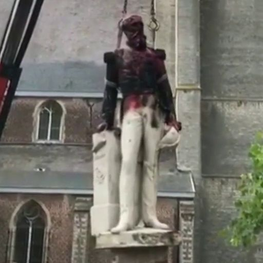 George Floyd protests: More statues come down after slave trader's monument toppled in Bristol