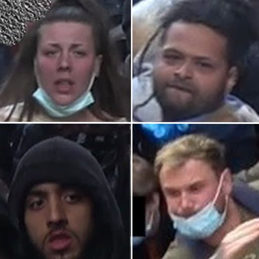 Do you know these faces? Police release photos of 35 people wanted after violence at London protests
