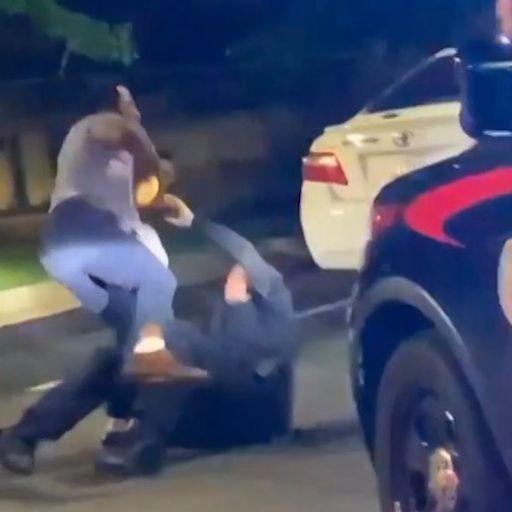 Atlanta police officer sacked after black man shot dead outside Wendy's restaurant