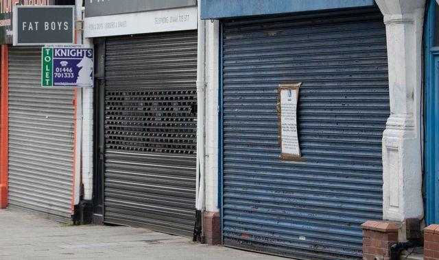 Coronavirus: Chancellor Rishi Sunak warns of 'tough choices ahead' after recession