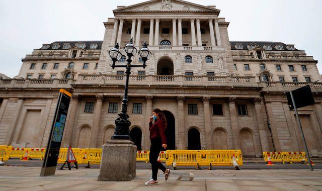 'So far, so V': Bank of England's chief economist sees sharp bounce-back