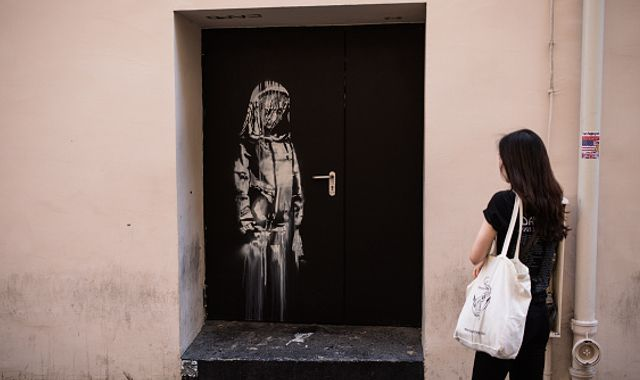 Banksy theft: Six arrested over artwork stolen from Paris concert hall