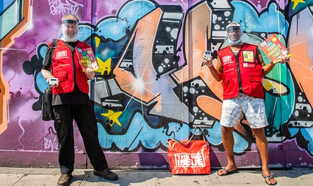 Coronavirus: The Big Issue sellers to resume street sales with PPE and contactless card readers