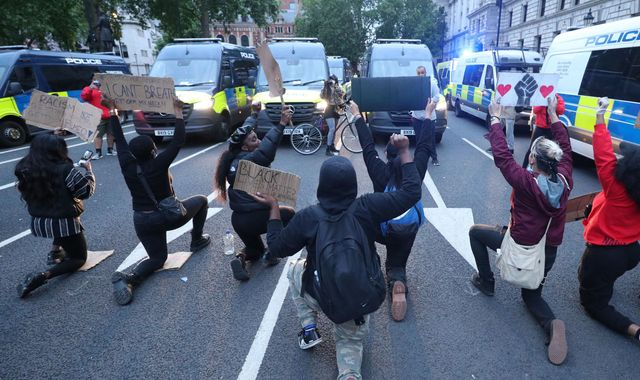 Black Lives Matter London protests: Scuffles with police mar mainly peaceful demonstrations