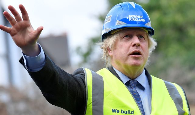 Coronavirus: Boris Johnson says it would be a 'mistake' to go back to austerity because of pandemic