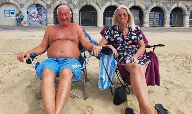 Coronavirus: Bournemouth beach-goers on why they're back despite closure warnings