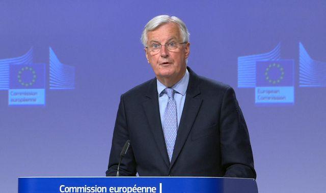 Brexit: 'No significant areas of progress' in UK-EU talks, says bloc's negotiator Michel Barnier