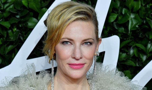 Cate Blanchett 'nicks head' in chainsaw accident during lockdown