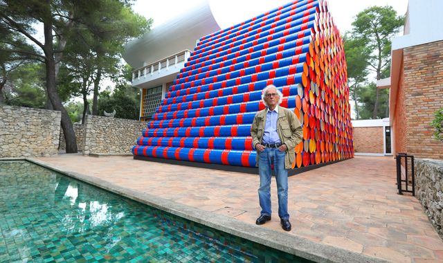 Christo: Landmark 'wrapping' artist who 'realised the impossible' dies aged 84