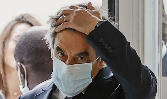 Francois Fillon: Ex-French prime minister and his wife found guilty over €1m fraud