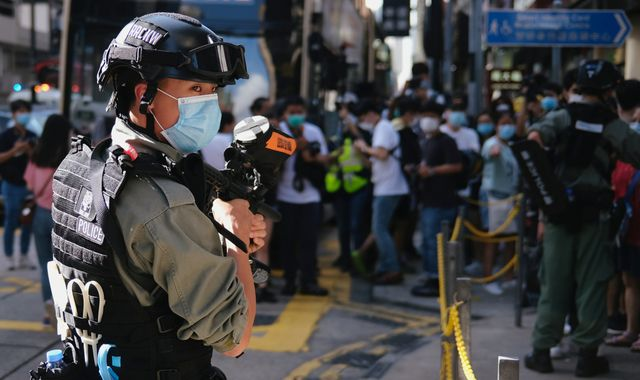 Life in prison for anyone who violates new Hong Kong security law imposed by China