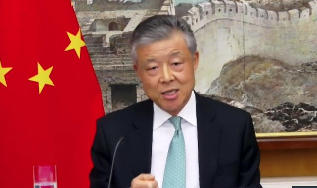 Coronavirus: China would welcome 'international review' into COVID-19 pandemic, says ambassador to UK