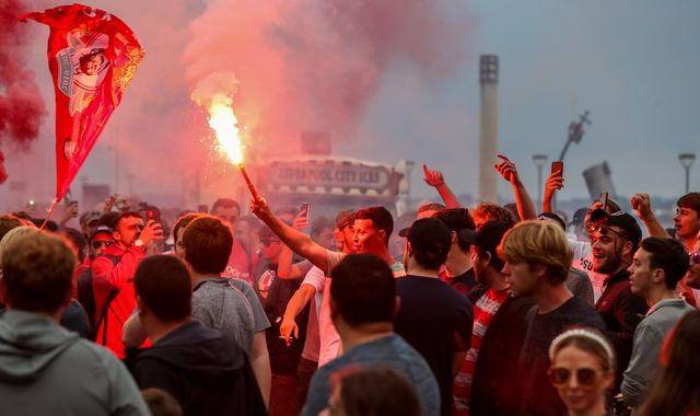 Liverpool fans' behaviour 'wholly unacceptable', says club