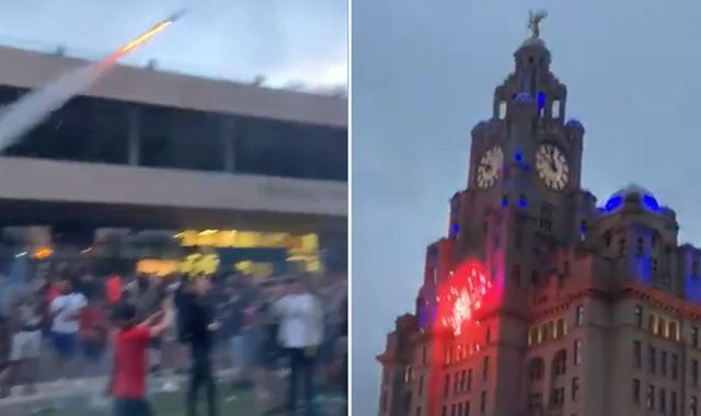 Liverpool: 'Significant disorder' as thousands celebrate Premier League title for second night