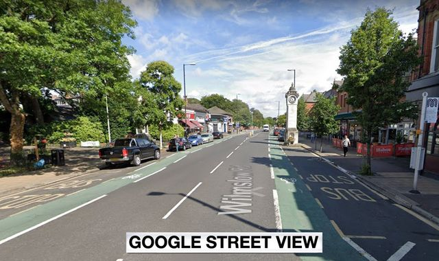 Pedestrian dies after being hit by cyclist while crossing road in Manchester