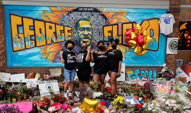 George Floyd death: In Minneapolis, the community came together to remember