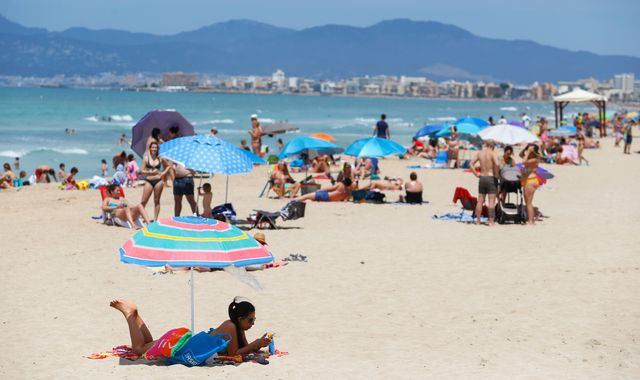 Coronavirus: Travellers from 14 'safe' countries can now enter EU