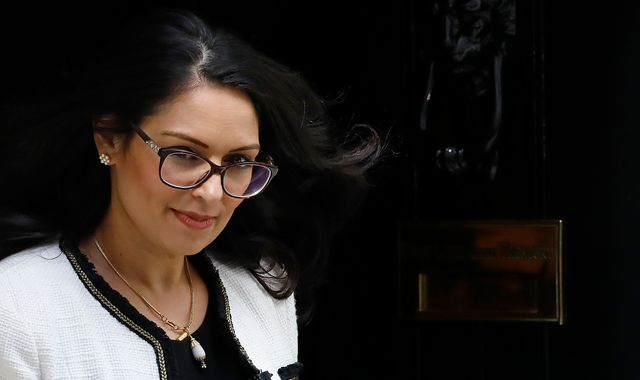 Priti Patel accuses dozens of Labour MPs of racism in row over protest comments