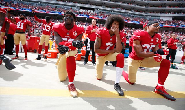 George Floyd death: NFL admits they were wrong to ban player protests