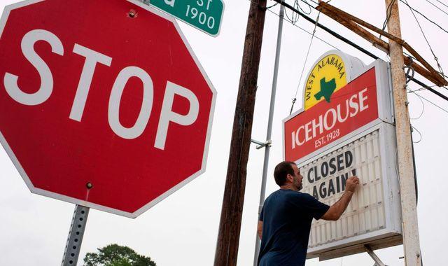 Coronavirus: Texas governor warns pandemic has taken 'very swift and very dangerous turn'