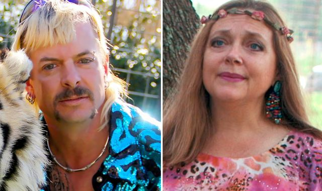 Tiger King star Joe Exotic reacts to loss of zoo to rival Carole Baskin