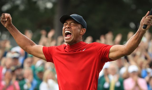 Tiger Woods: Back - unseen footage documents the rise, fall and comeback of golfing star