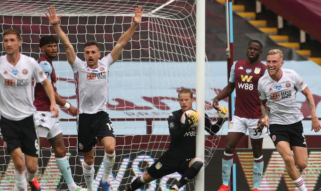 Bournemouth to discuss claim against Hawk-Eye for ghost goal during Aston Villa vs Sheffield United