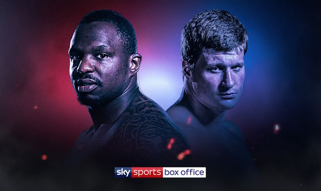Dillian Whyte collides with Alexander Povetkin in finale of Matchroom Boxing's Fight Camp