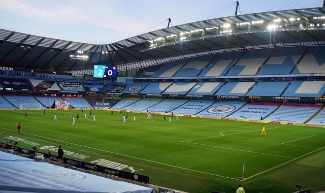 Champions League last-16 ties to take place at home stadiums