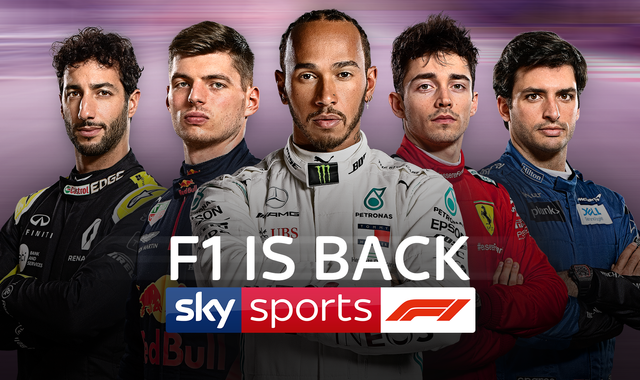 F1 is back: Live coverage of every race of 2020 season on Sky Sports