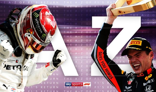 Formula 1 returns: The ultimate A-Z of the sport's 2020 season
