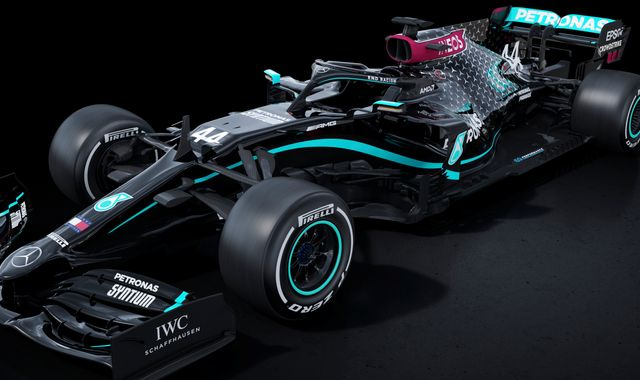 Mercedes to run black-liveried cars in F1 2020 in stand against racism
