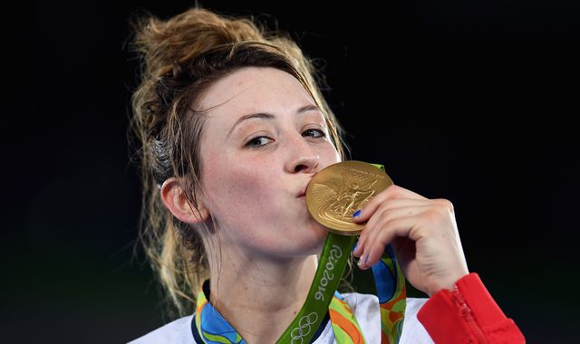 Jade Jones: Winning Olympics is best feeling in the world - I think I'm addicted to it