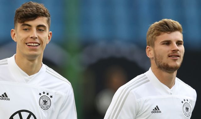 Timo Werner and Kai Havertz are 'great', says Liverpool manager Jurgen Klopp