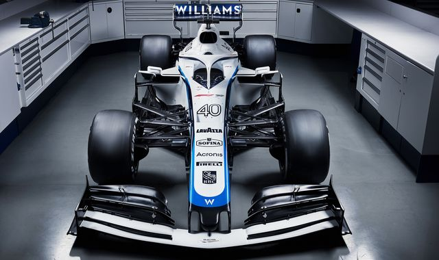 Williams reveal revised F1 2020 car livery ahead of new season