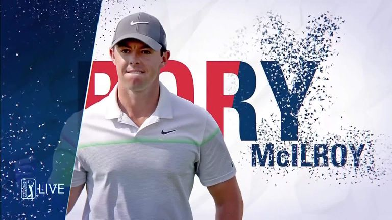 Rory McIlroy set the clubhouse target with an opening-round 63 in the Travelers Championship at TPC River Highlands
