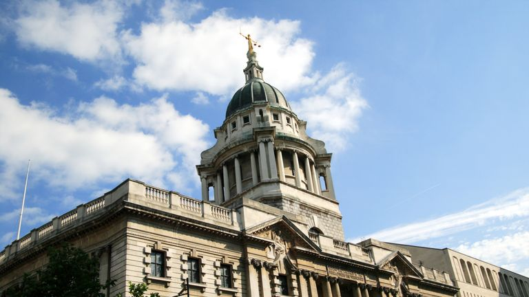 The Central Criminal Court fondly known as The Old Bailey, which until 1902 was Newgate prison is the highest  court for Criminal cases in England