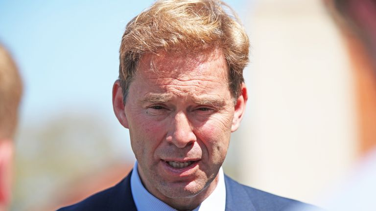 "File photo dated 14/05/19 of Tobias Ellwood who warned that a no-deal Brexit would leave the Tory party in the ""abyss"" of opposition for a decade as he was axed from the Government."