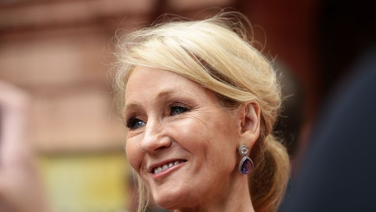 "File photo dated 30/07/16 of JK Rowling who has announced she is publishing a stand-alone fairy tale called The Ickabog. She wrote on Twitter: ""I always meant to publish it, but after the last Potter was released I wrote two novels for adults and, after some dithering, decided to put those out next."""