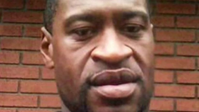 George Floyd was killed while under arrest in Minneapolis in May