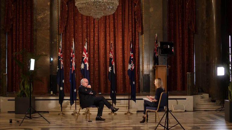 Australian High Commissioner to the UK George Brandis