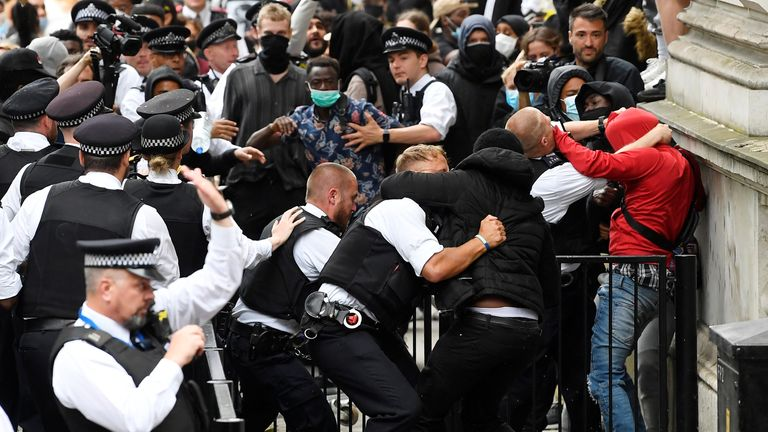 Protests in London
