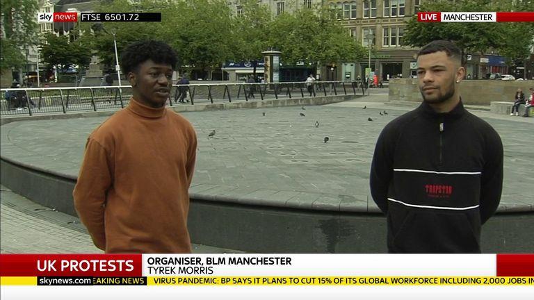 Manchester Black Lives Matter organisers