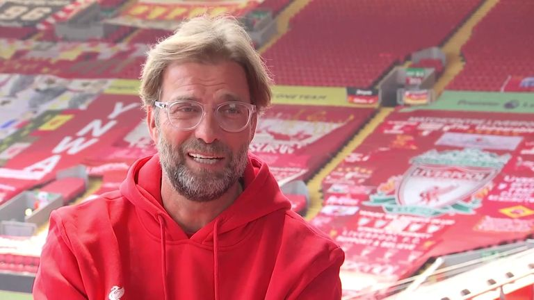 Jurgen Klopp joins Sky Sports News from Anfield to discuss, among other things, his dance moves, winning the Premier League and the fans who want him to sign a lifetime contract