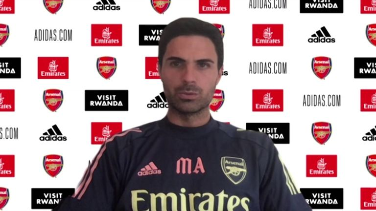 Amid uncertainty over the futures of Mesut Ozil and Matteo Guendouzi, Arsenal head coach Mikel Arteta says he will continue to call upon players in his squad if they show the required desire.