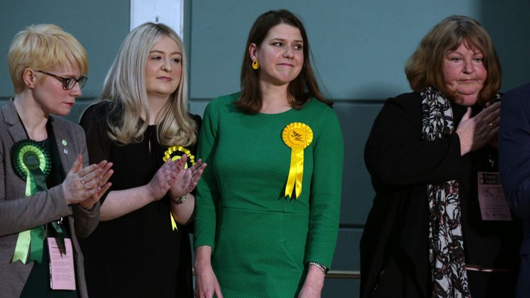 Ms Callaghan beat the then Lib Dem leader Jo Swinson