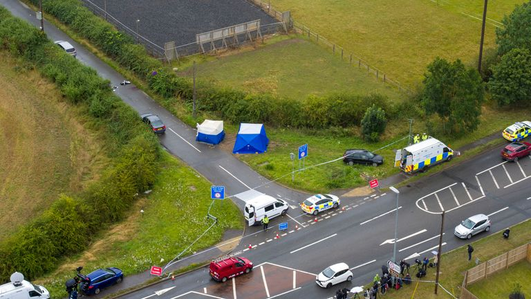 PC Harper's body detached from the ropes on the Seat and was pronounced dead at the scene in Berkshire