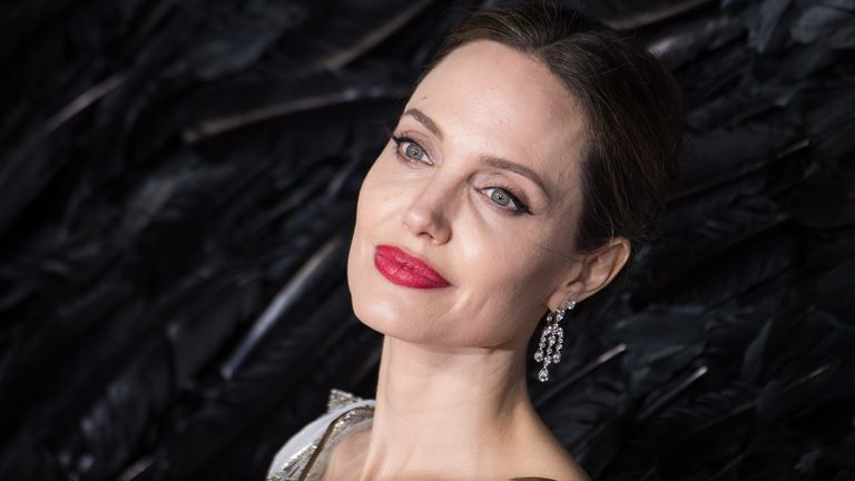 Angelina Jolie said she thought the split was 'the right decision'