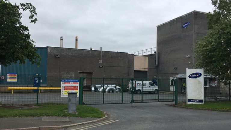More than 150 staff at the 2 Sisters plant in Wales tested positive for coronavirus